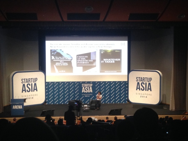 Khailee Ng Startup Asia 2014